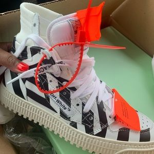 High Top OFF WHITE